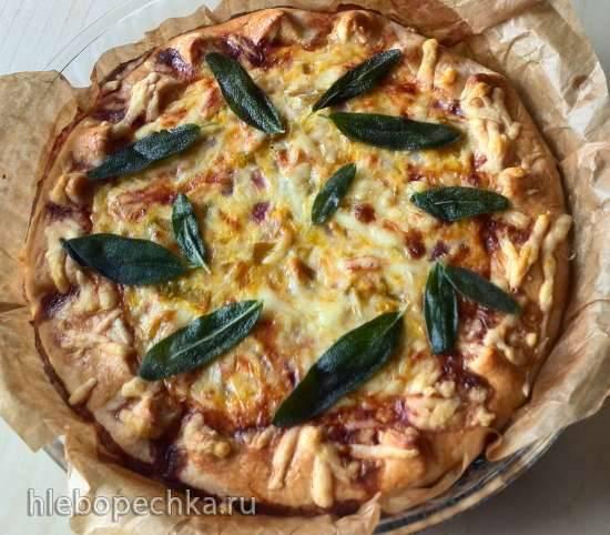 Пирог Три сыра с тыквой