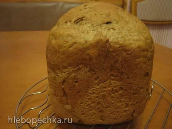 Ржано-пшеничный хлеб (хлебопечка)
