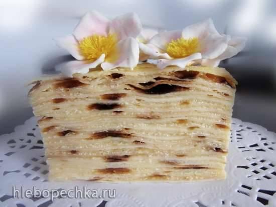 Торт Наполеон одесский