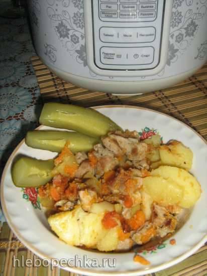 Мясо с овощами в Поларис Флорис