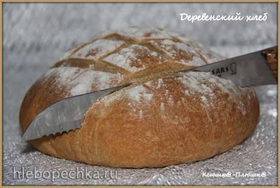 Хлеб деревенский (духовка)