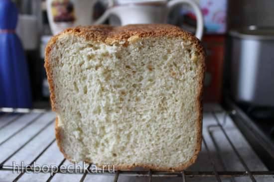 Пшеничный хлебушек с шоколадной крошкой в хлебопечке