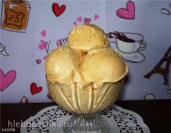Мороженое Крем-брюле в мороженице Brand 3811