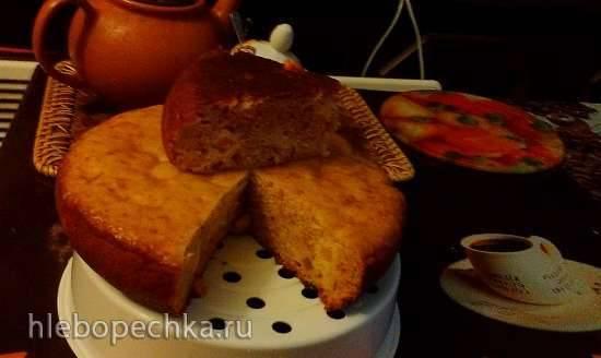 Пирог медовый к чаю в мультиварке Polaris 0508D floris
