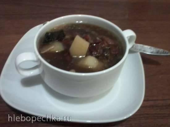 Суп из лесных грибов в скороварке Brand 6050