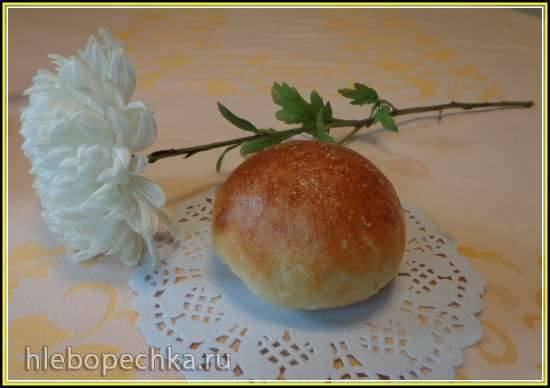 Гавайские булочки (хлебопечка)