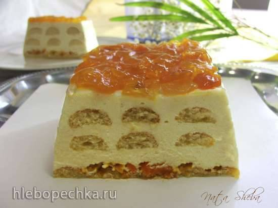 Торт Тирамису с кумкватом (Candied Kumquat Tiramisu)