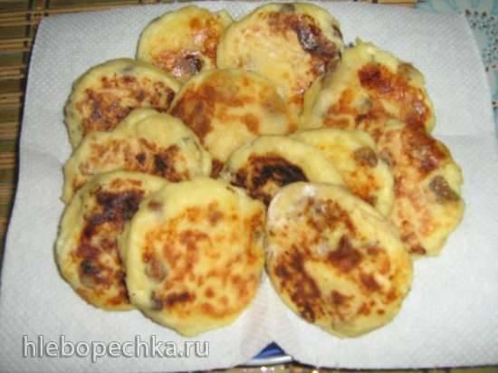 Сырники с изюмом и курагой в Поларис Флорис