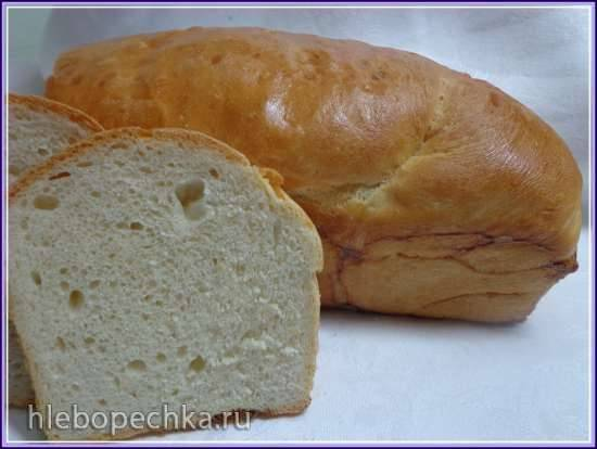 Викторианский молочный хлеб
