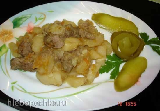 Бёрек (с мясом и картошкой)