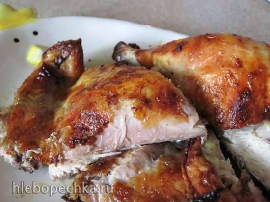 Цыплёнок с лаймом и базиликом