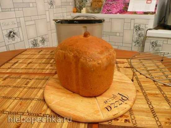 Пшенично-ржаной с выдержкой, адаптация для Binatone BM-1068 (на базе рецепта от fugaska)