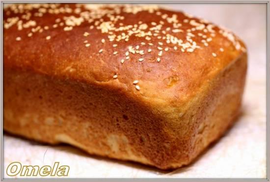 Картофельный хлеб для тостов (в духовке)