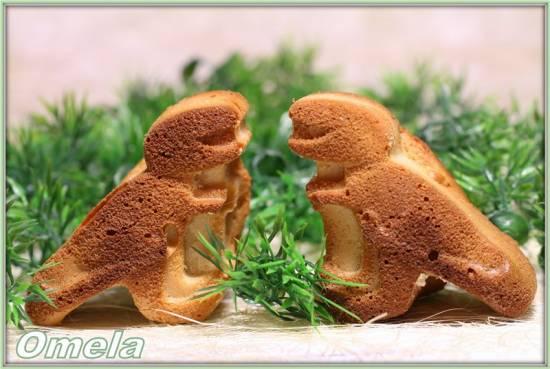Кексы детские «Динозавры»