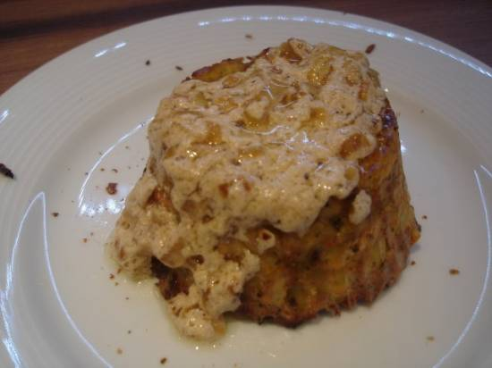 Запеканка  из брокколи и картофеля