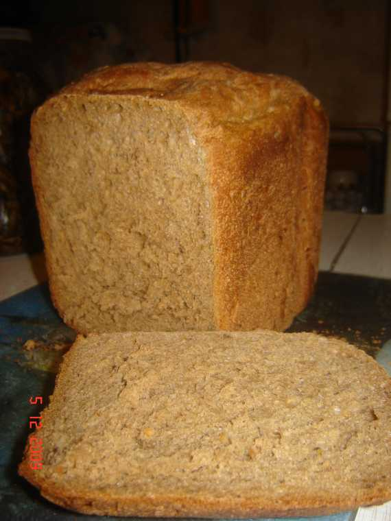 """Хлеб пшенично-ржаной 50:50 """"Баварский"""" со смесями"""