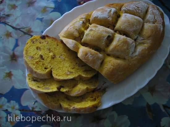 Хлеб с тыквенными семечками Хлеб с тыквенными семечками