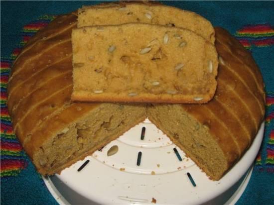 Кекс-хлеб тыквенный
