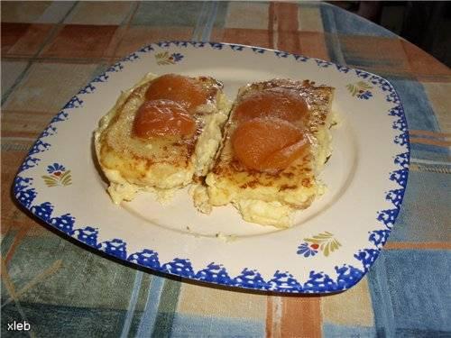 """Завтрак-десерт """"Хлебушек с яичком"""" от Ромы"""