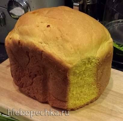 Кукурузный бездрожжевой хлеб
