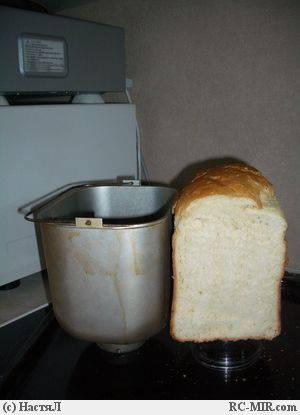 Миндальная булка с амаретто (хлебопечка)