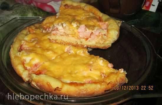 Пицца в мультиварке Scarlett IS-MC412S01