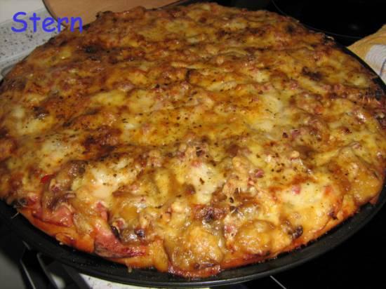 Тесто дрожжевое творожное для пиццы и пирожков