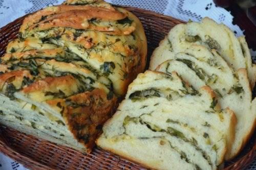 Кранц с сыром и зеленью