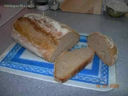 Парижский цельнозерновой хлеб Лайонела Полиана Парижский цельнозерновой хлеб Лайонела Полиана