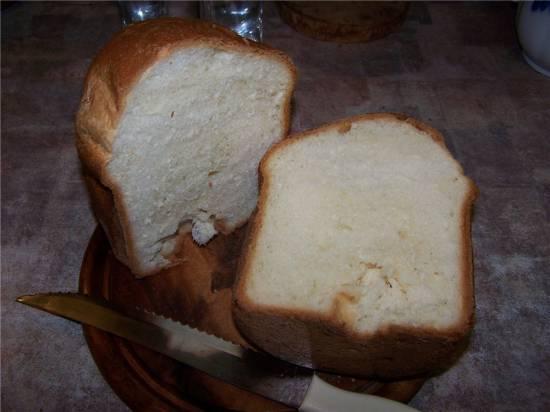 Португальский сладкий хлеб (хлебопечка)