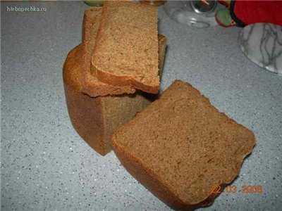 Хлеб ржаной с листовки Дома Хлеб на кефирной закваске ( в ХП)