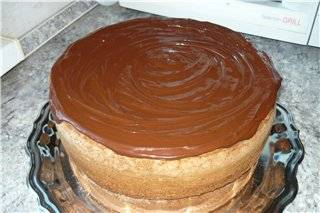 Торт «Пьяная вишня в шоколаде »