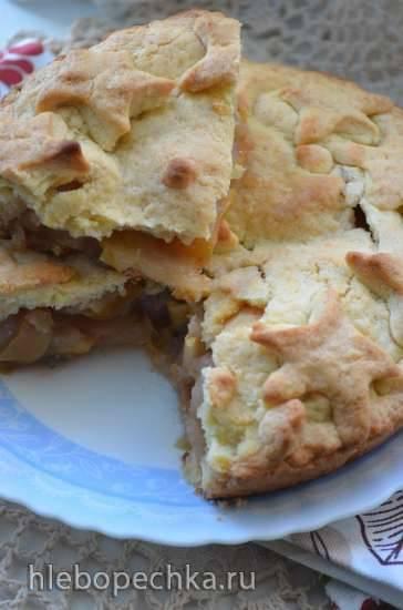 Голландский яблочный пирог