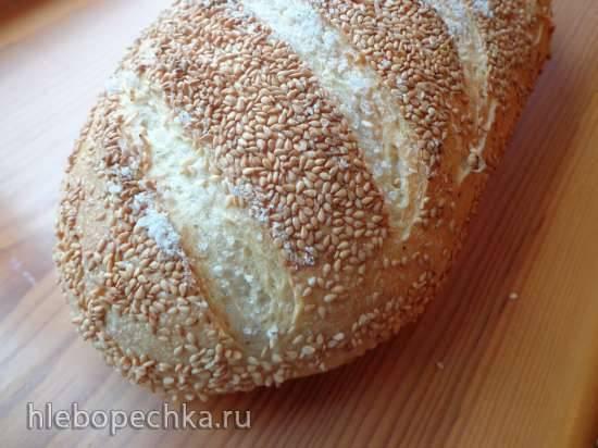 Хлеб Семолина и кунжут