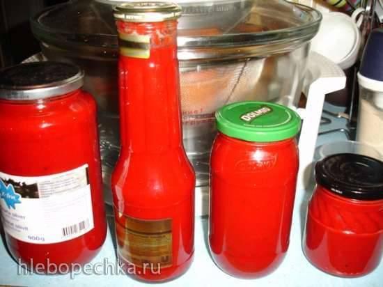 Кетчуп шашлычный без затей в мультиварке