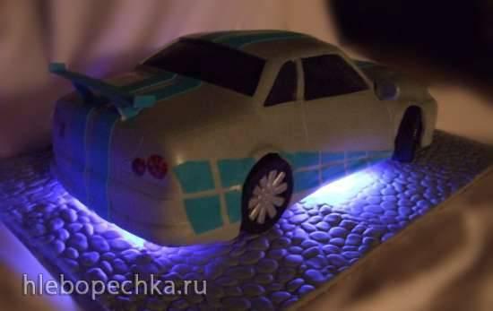 Торт с подсветкой