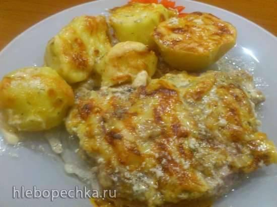 Шейка в Omelкином соусе с картошкой