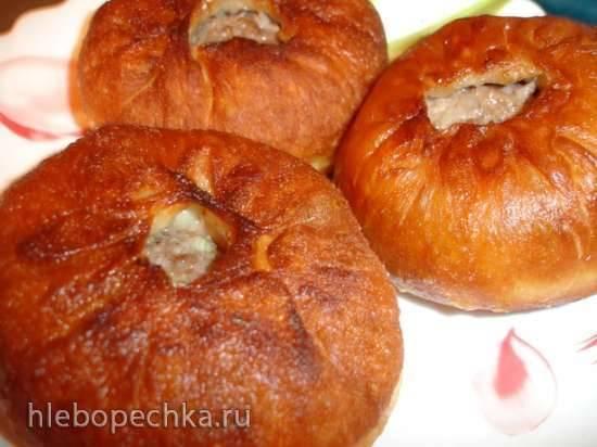 Тесто для беляшей и пирогов (раскладка на 1 кг)