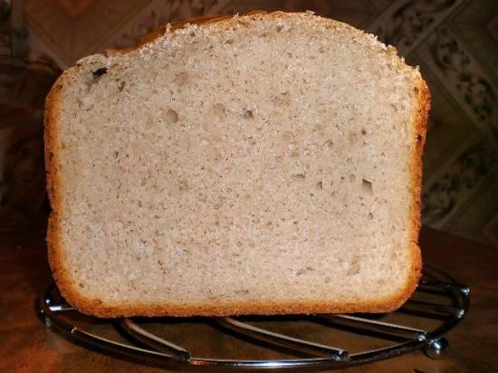 """Гречневый хлеб """"Пушистый"""" (хлебопечка)"""