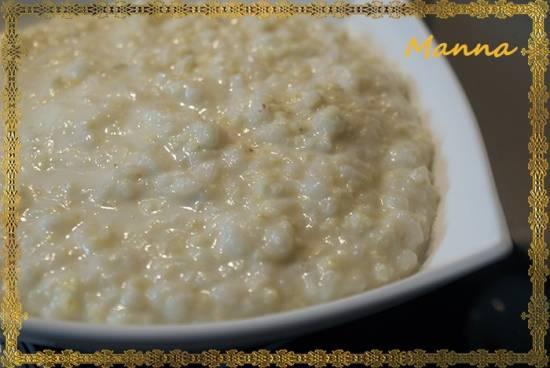 Каша молочная рисово-пшенная (мультиварка Brand 701)