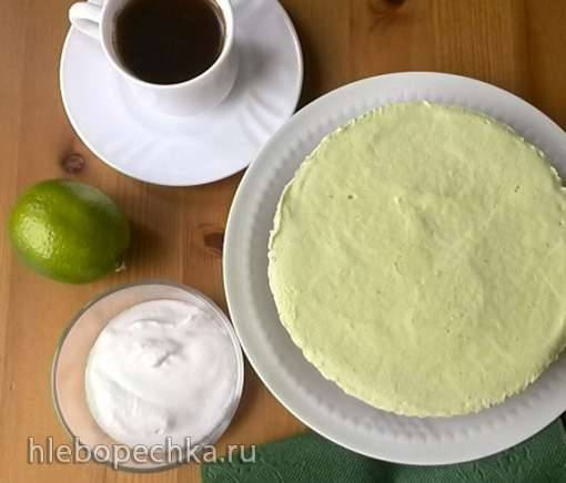 Десерт из авокадо и лайма (Healthy Avocado-Lime Pie)