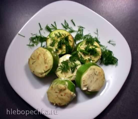 Кабачки, запеченые с яйцом и сыром Кабачки, запеченные в сметанном соусе. Летнее настроение.