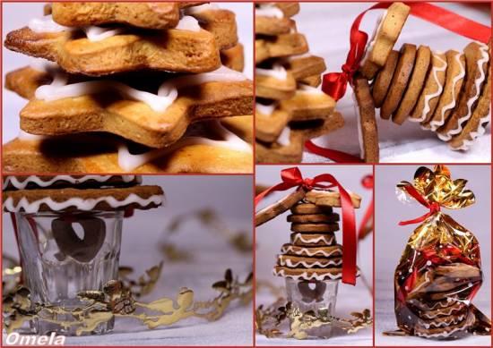 Новогоднее печенье «Елка» и «Колокольчик»