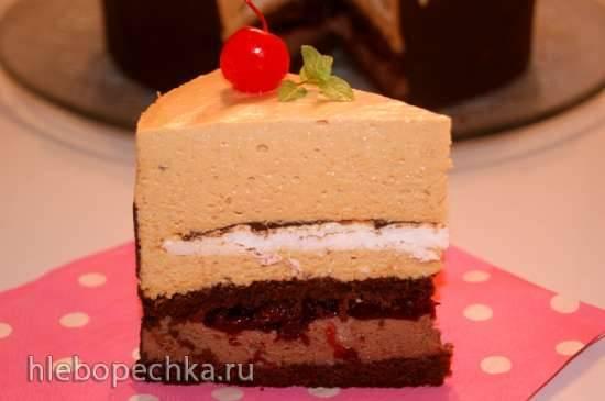 Торт Карамель в шоколаде