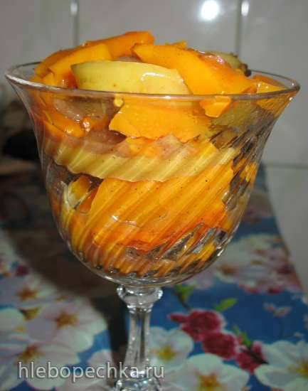 Десерт «Тыквенно-яблочный восторг»