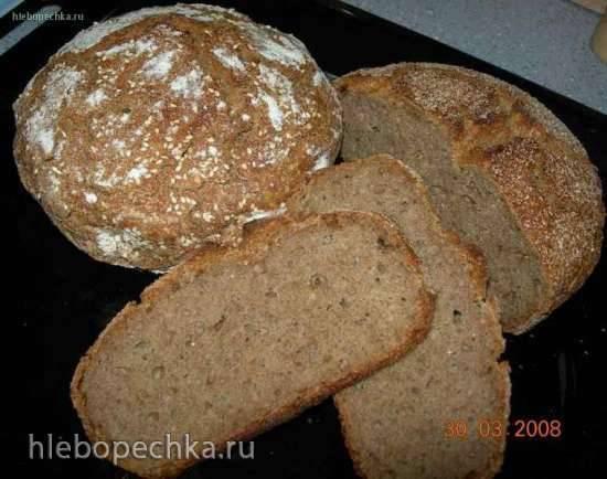 Хлеб в мультиварке без замеса