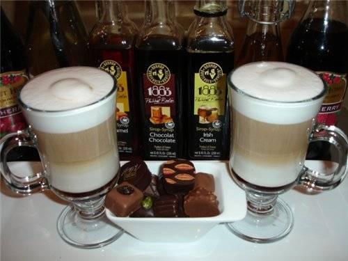 Рецепты кофейных напитков, латте, кофейных коктейлей