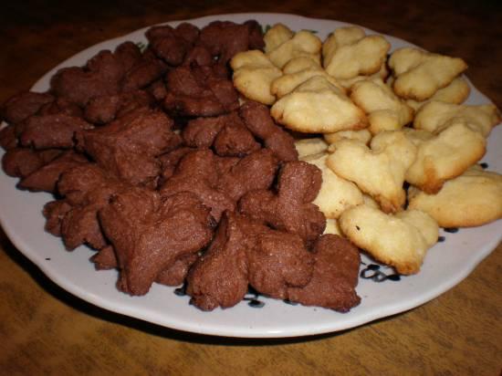 Бисквитные пирожные Лакомка