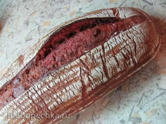 Свекольный хлеб на закваске