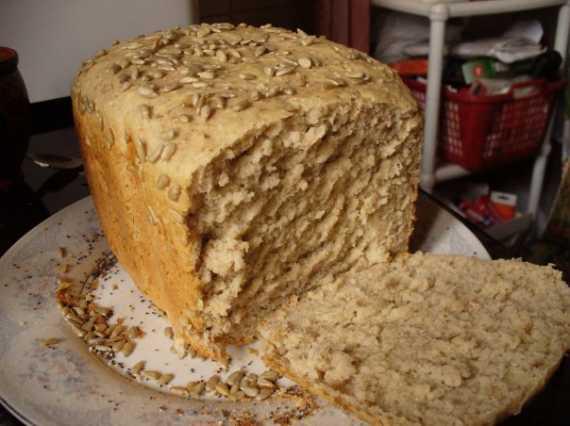 Хлеб гречневый на гречневой закваске